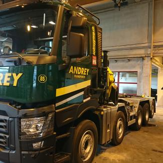 Andrey Group transport Rampe